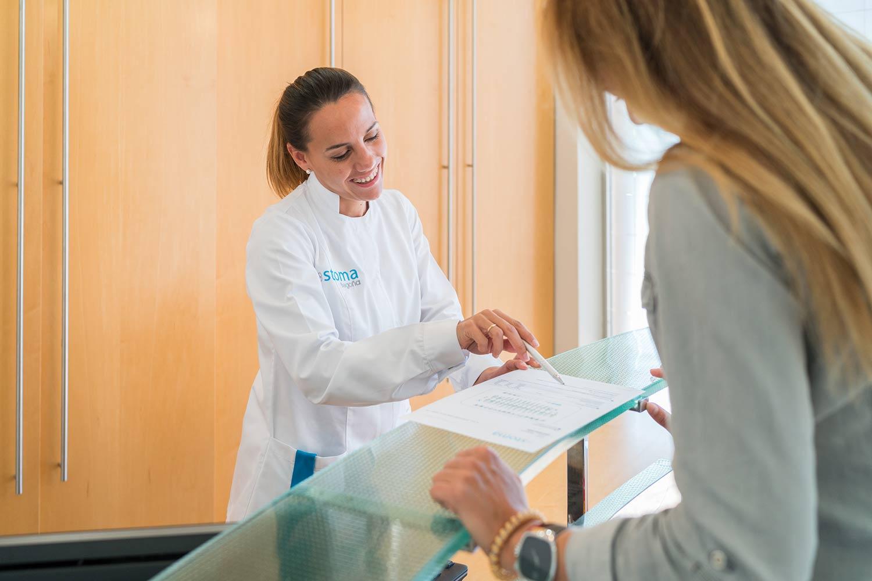 Atención al paciente Stoma