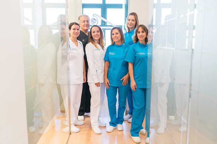 Equipo dentistas Montecanal