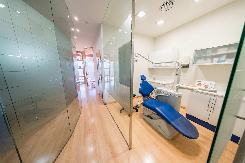 Interior de la Clínica Stoma