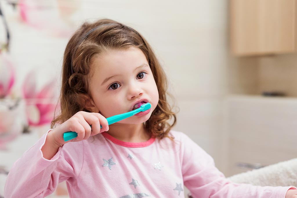 Limpieza dental en niños
